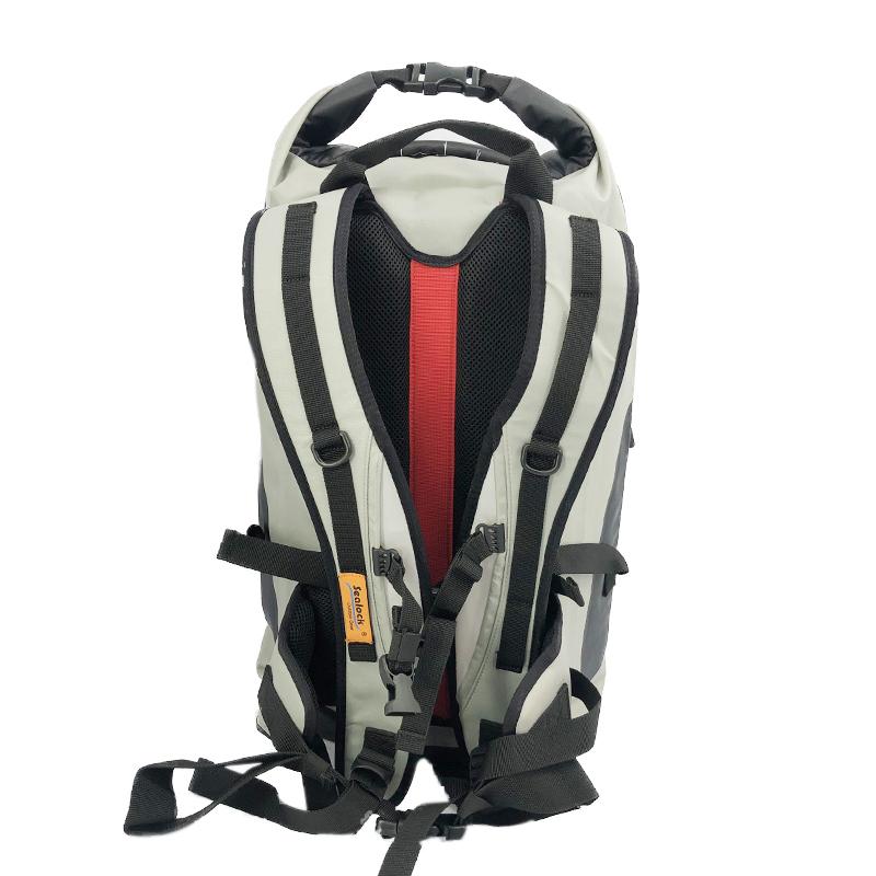 25L IPX8 OEM TPU camping waterproof dry backpack