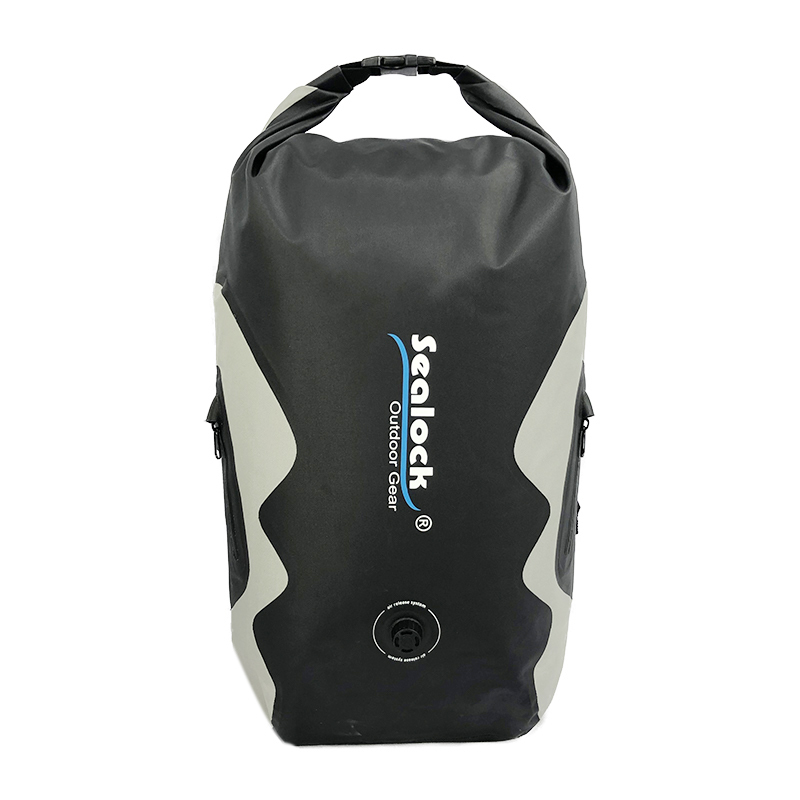 25L IPX8 OEM TPU camping waterproof dry backpack