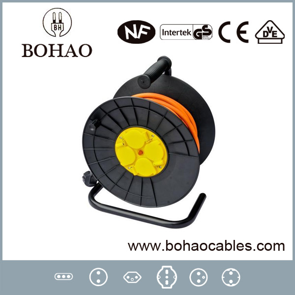 50m Impermeable francés Cable Carrete