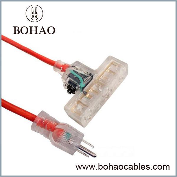 Sobrecorriente Protector Extensión Cable