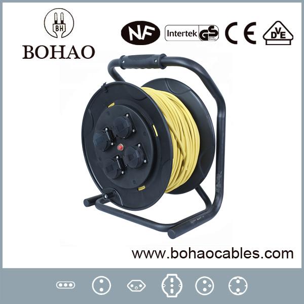 European Socket Portable 30m Power Cord Cable Reel