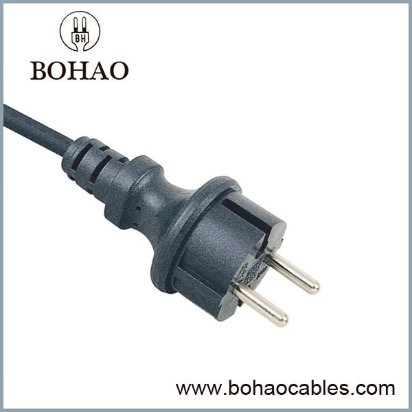 EU AC Power Cord IP44 Waterproof CE VDE Approved