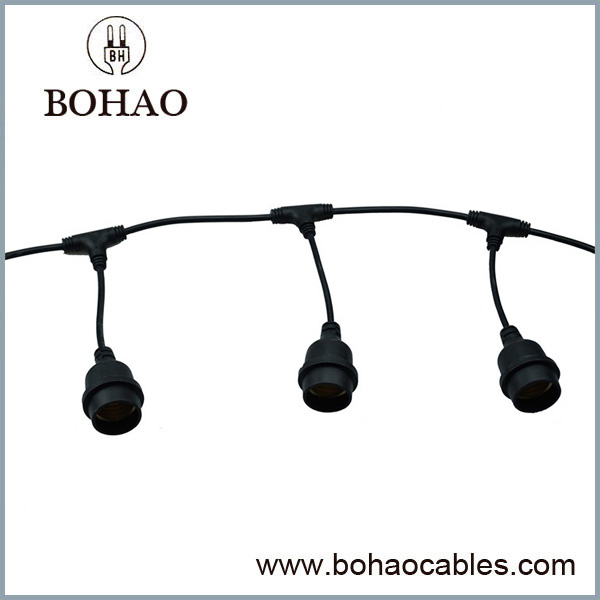 Outdoor Waterproof String Light Cable