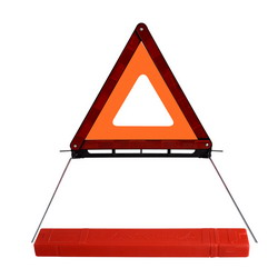 E-MARK Certified Reflective Warning Triangle