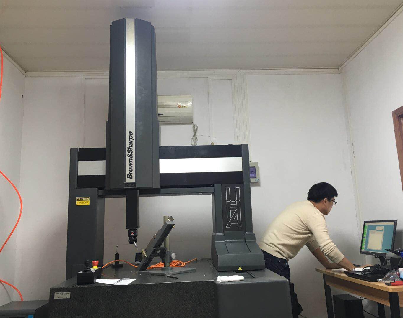 Investment of CMM instrument to better measure the complex precise machined parts