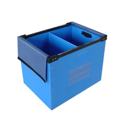 Plast Sarg PP ihålig styrelse korrugerad låda