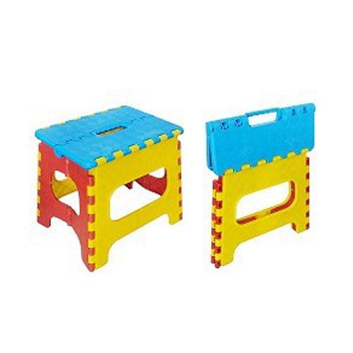 Lättviktig lätt carring Hopfällbar plast Pall för vuxna och Barn
