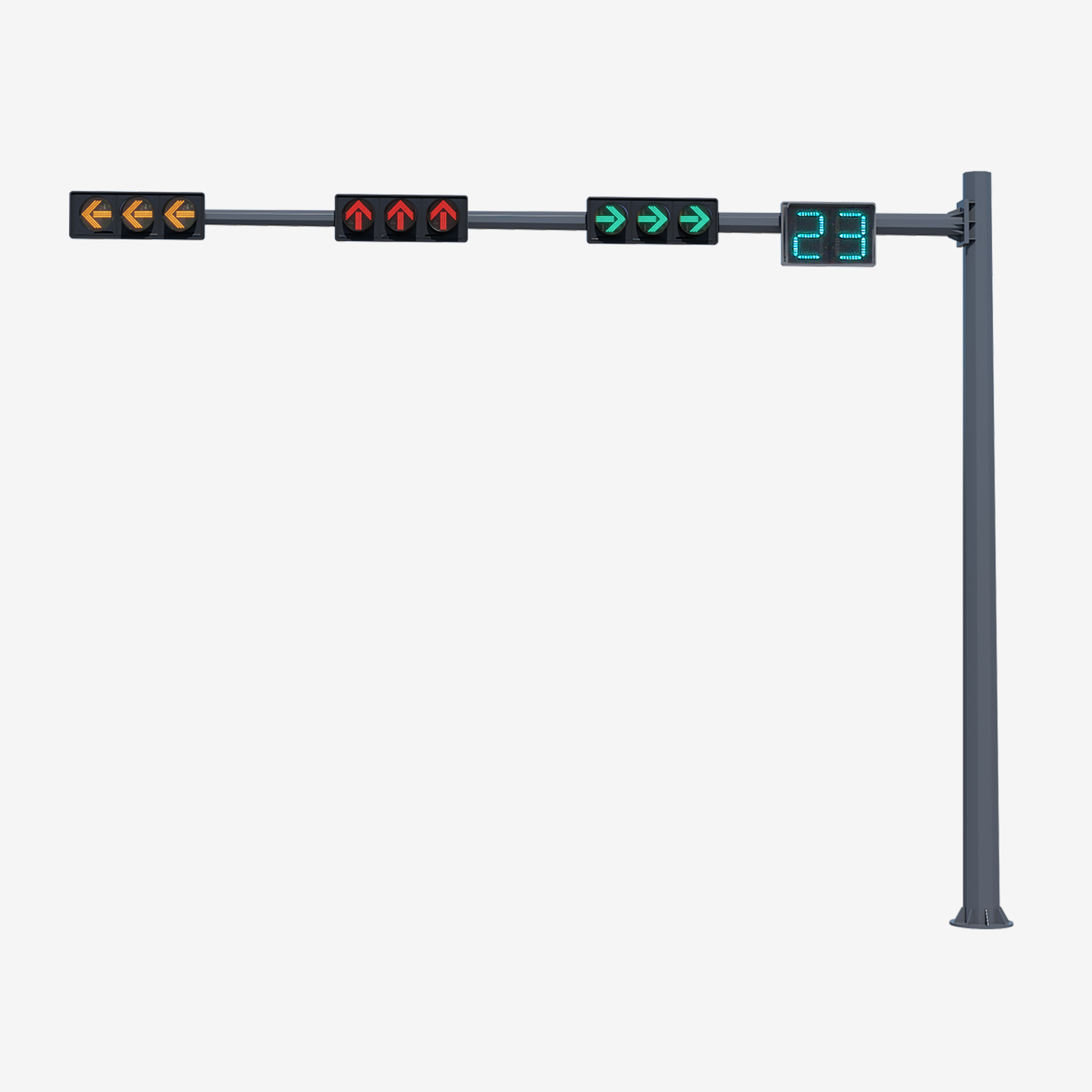 Traffic Signal Lighting Pole