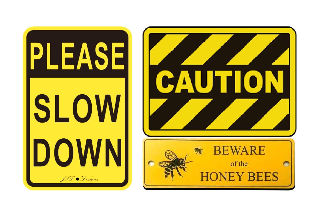 Trafik Vej Advarsel Skilt til Sikkerhed