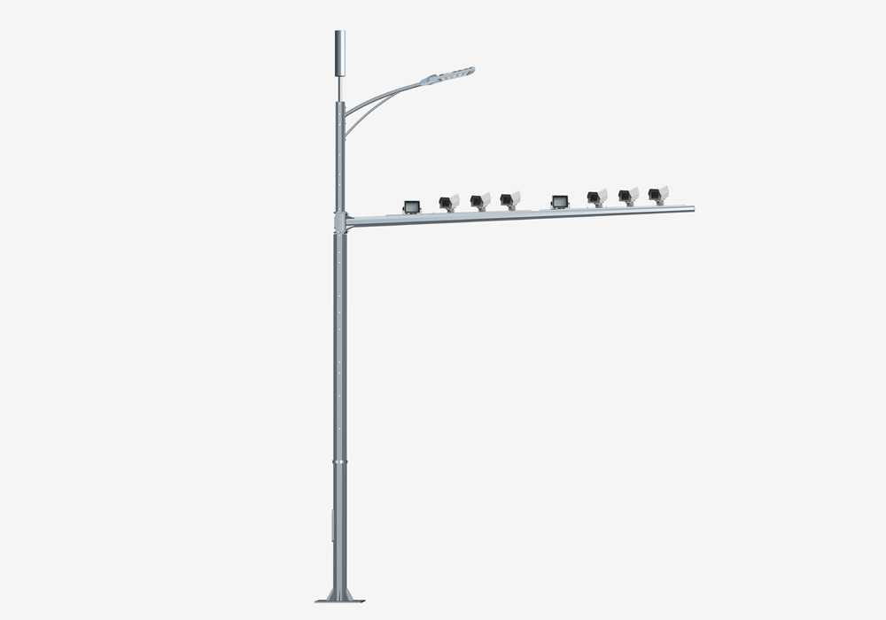 Multifunction Lamp Pole For Street Lighting With WIfi
