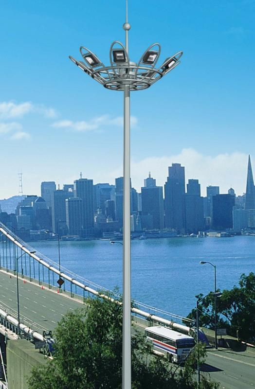 High pole lamp manufacturers talk about the role of high pole lamps in urban landscape