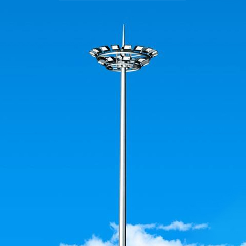 High pole lamp manufacturers talk about what are the requirements when producing high pole lamp poles