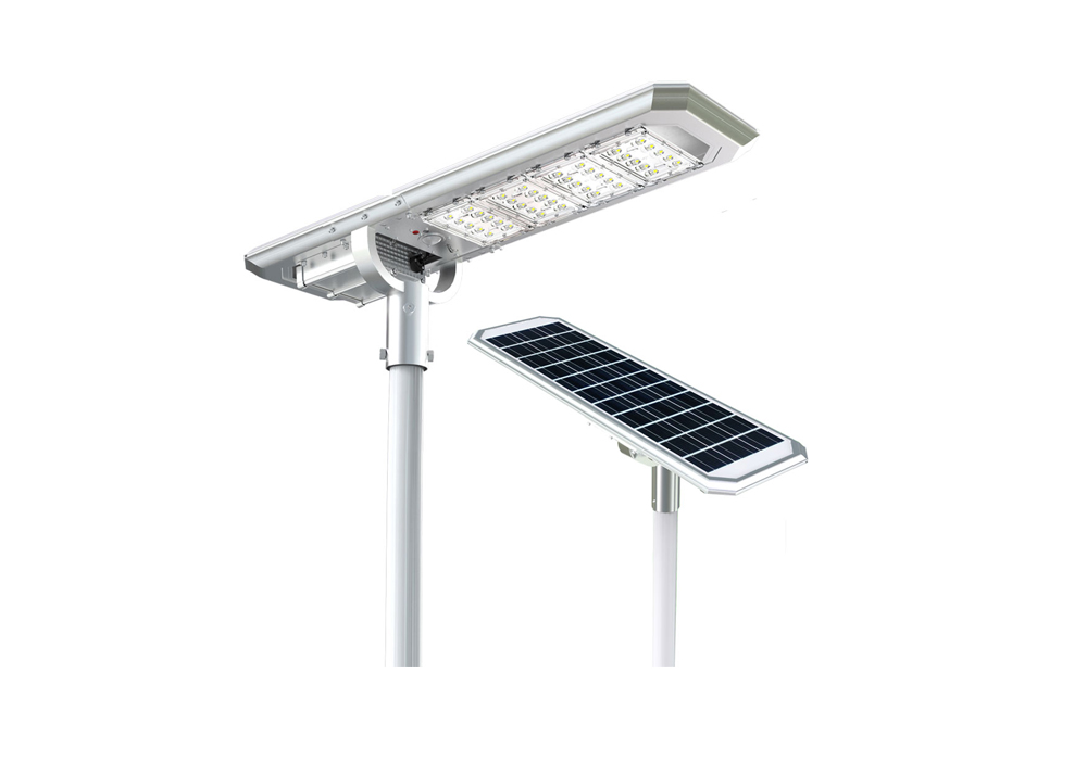 Solar Street Lights Lithium Battery