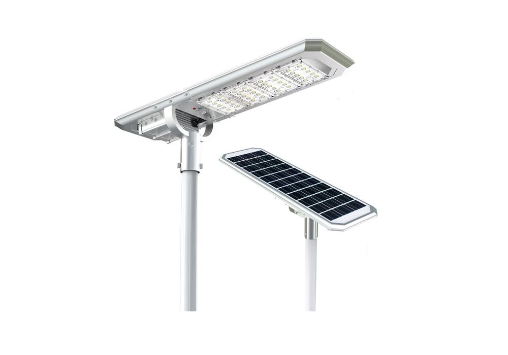 Solar Street Lights Lithium Battery