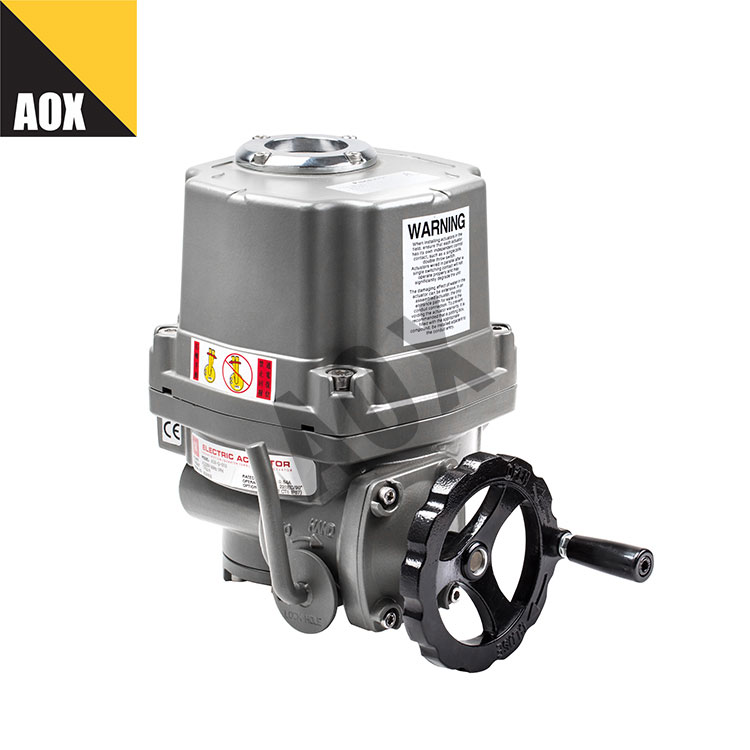 Industrial quarter turn electric actuator