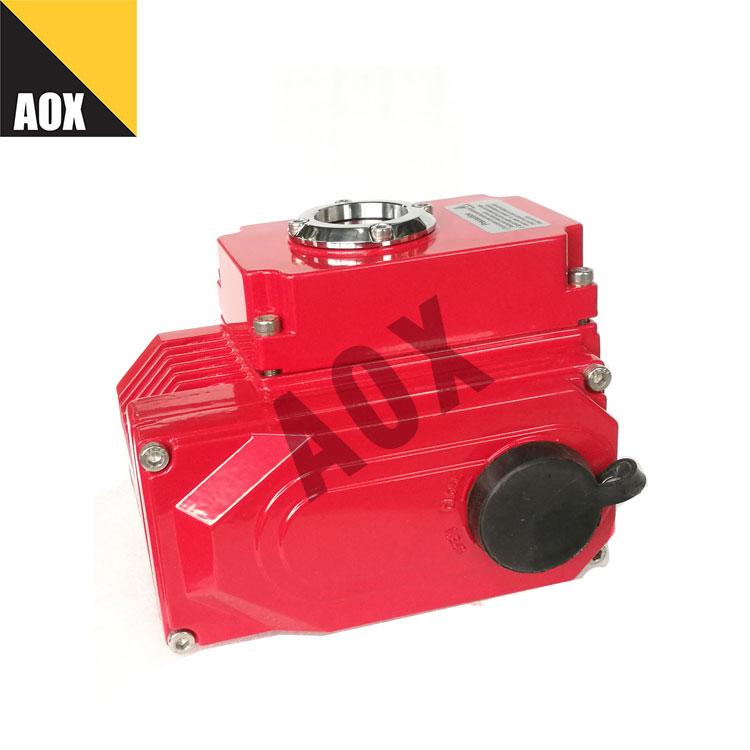 သေးငယ်သော rotary လျှပ်စစ် actuator