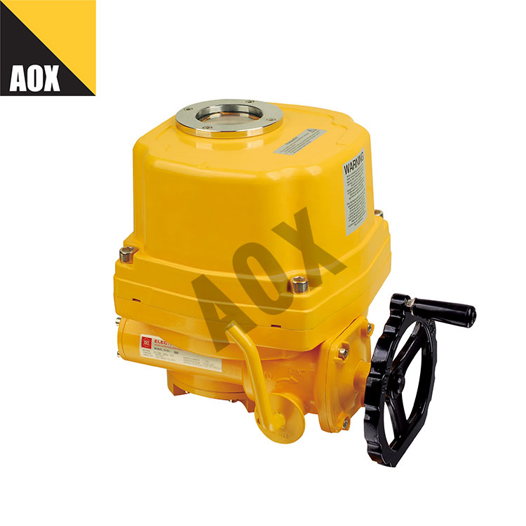 Explosion proof rotary electric actuator