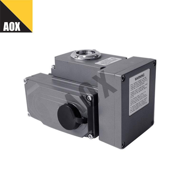 ဝေးလံသော ထိန်းချုပ်မှု rotary လျှပ်စစ် actuator