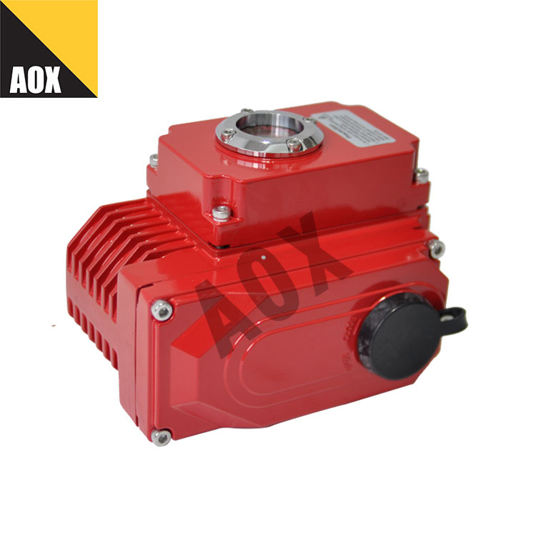 Open close duty rotary electric actuator