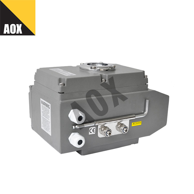 Manual override rotary electric actuator