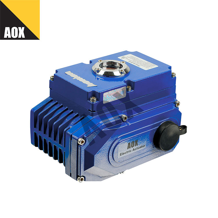 Compact motorized rotary actuator
