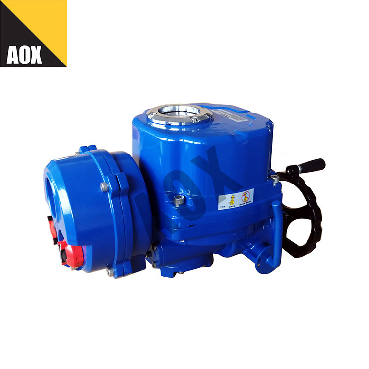ဒေသဆိုင်ရာ ဝေးလံသော ထိန်းချုပ်မှု rotary လျှပ်စစ် actuator