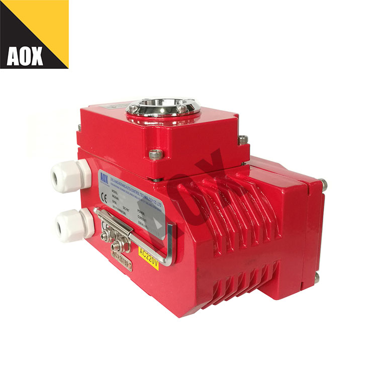 Compact part turn electric actuator