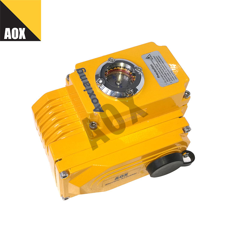 Fast part turn electric actuator