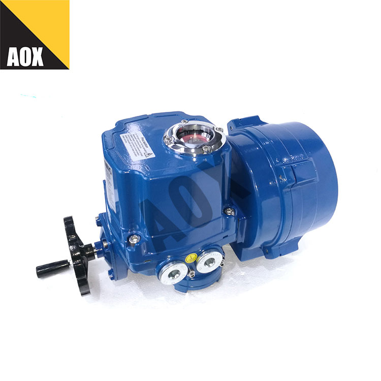 Motorized part turn actuator