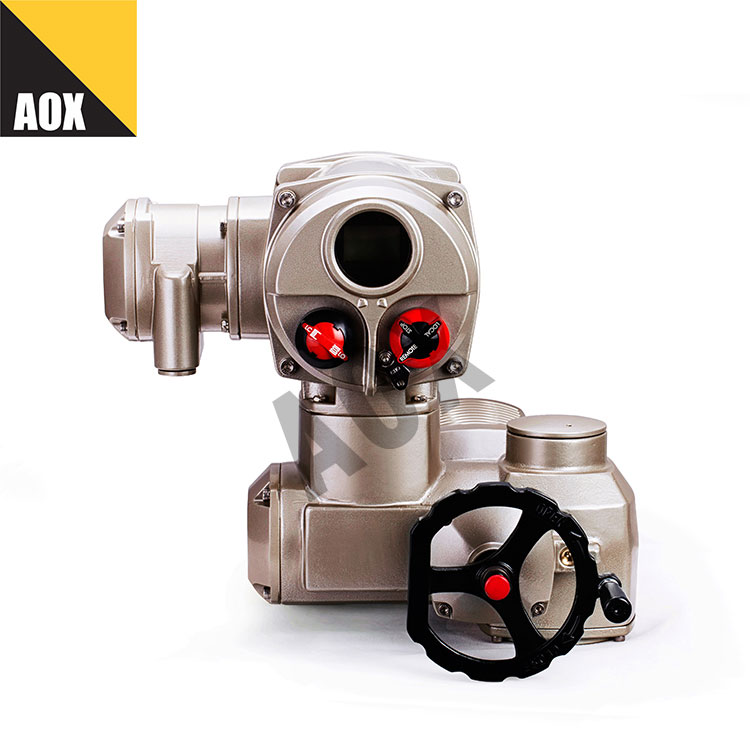 Industrial multi turn electric actuator