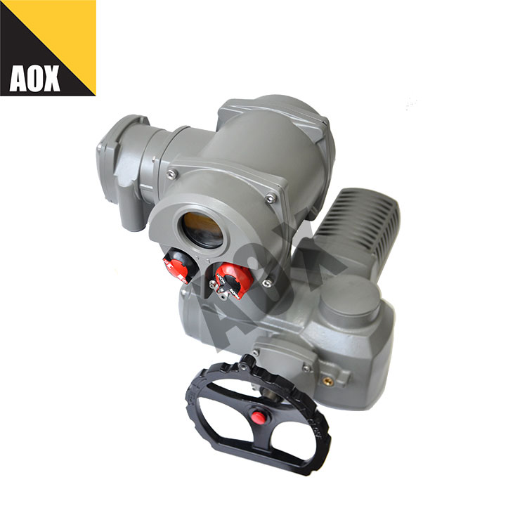 Motor operated multi turn actuator