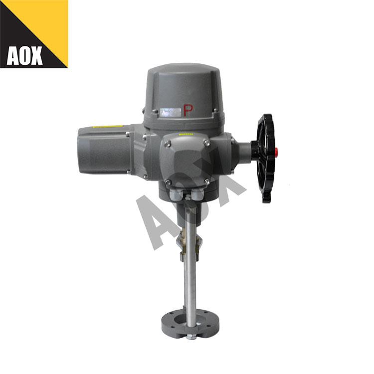 Modulating motorized linear actuator