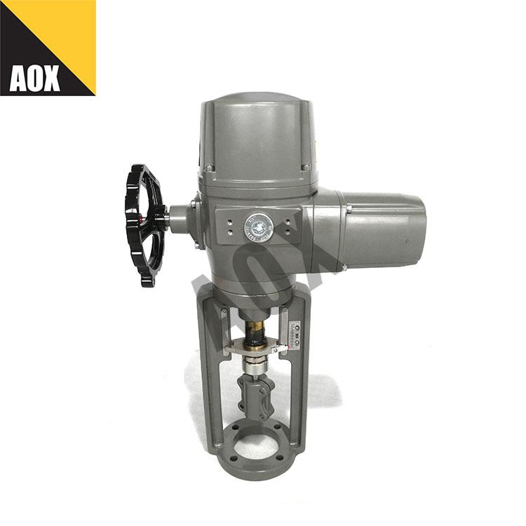 Motorized linear actuator with handwheel