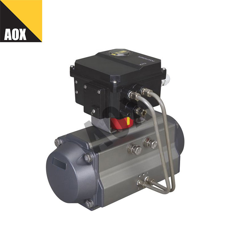 High speed double acting pneumatic rotary actuator