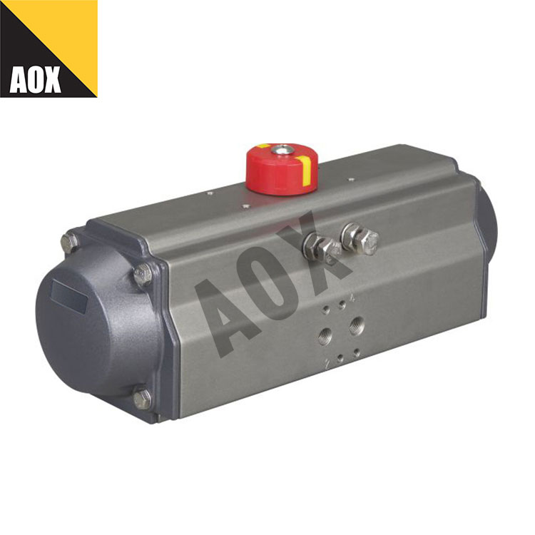 High speed double acting pneumatic actuator