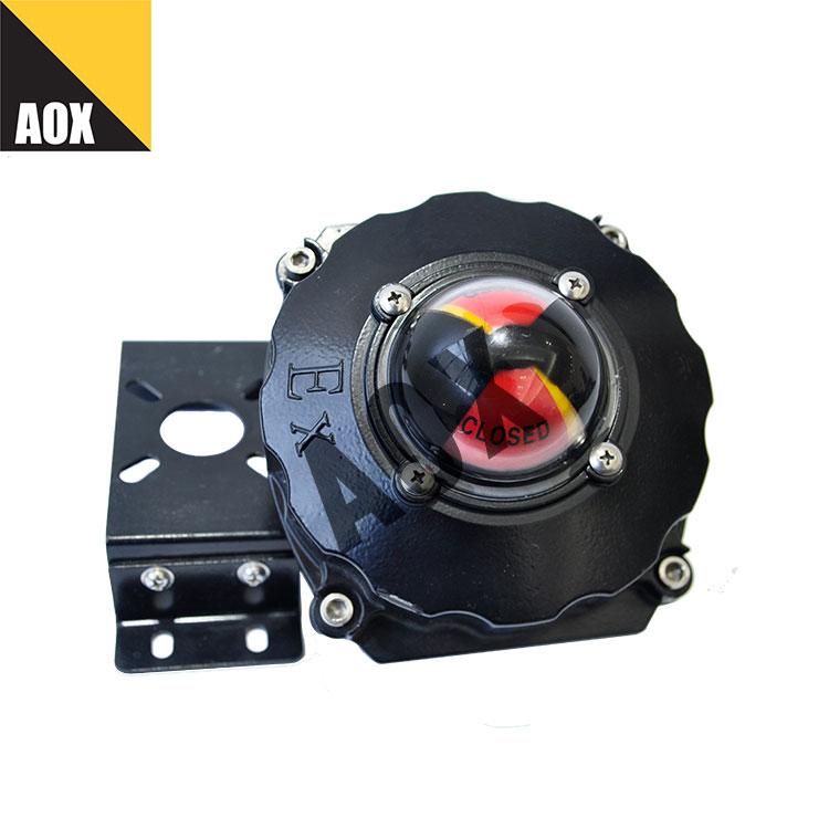 Válvula posição indicador explosão prova limite interruptor caixa