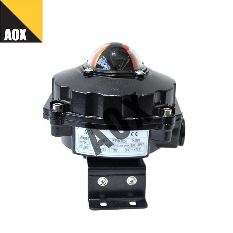 Válvula posição explosão prova limite interruptor caixa