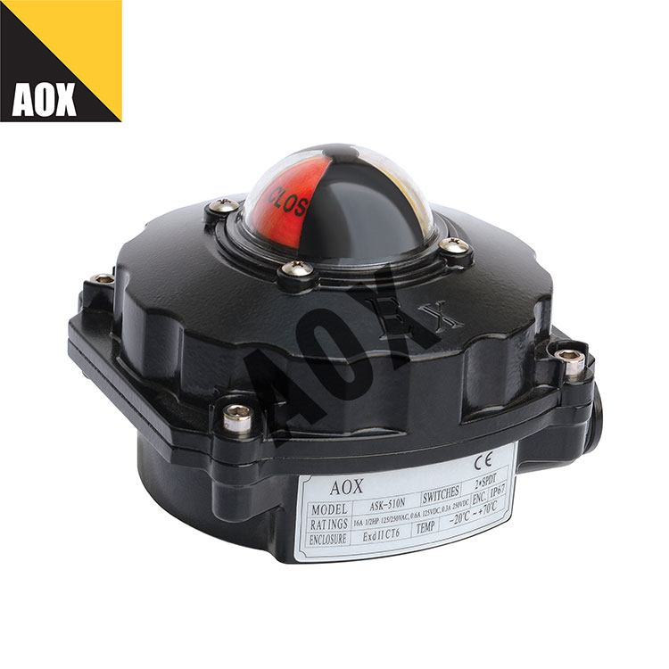 2 position explosion proof limit switch box