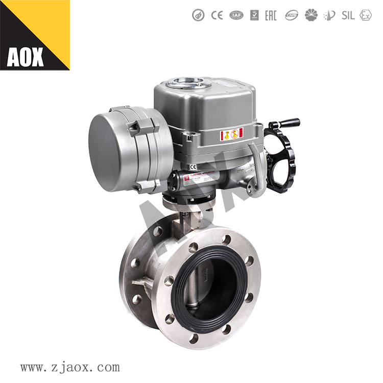 What problems should be considered in the selection of electric valve actuator?