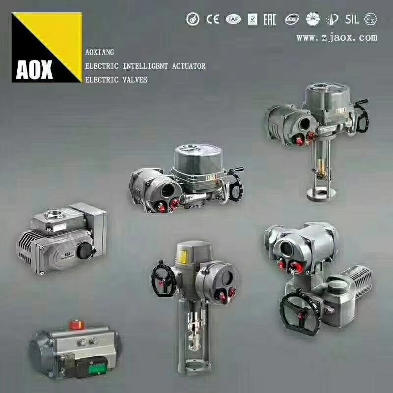 AOX electric actuator get the new EAC Certificate