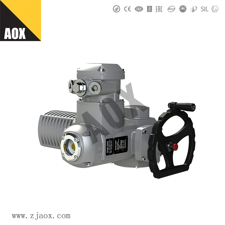 100 Sets AOX-M Electric Actuators Going To Dispatch To Russia