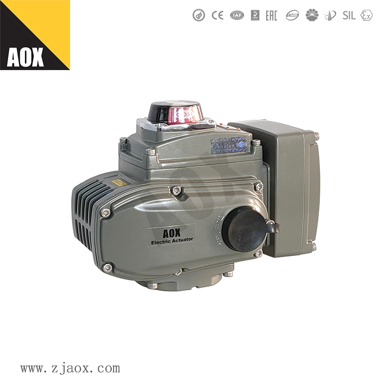 AOX officially released new compact explosion-proof actuator