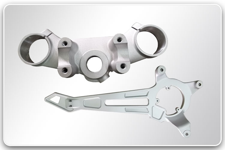 Gravity Casted & Machined Brackets
