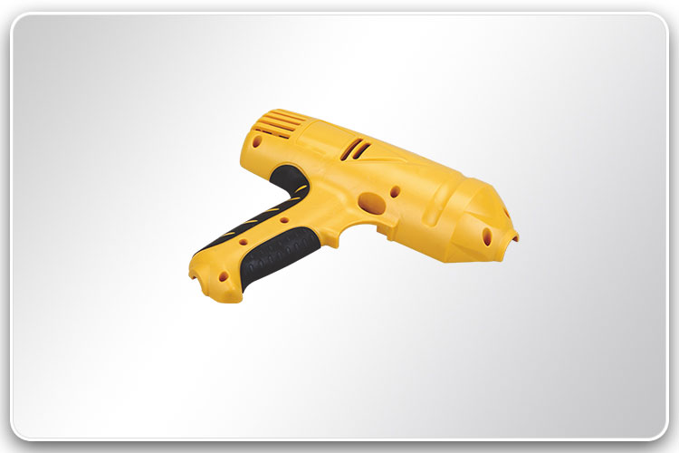 Plastic Injection Overmolded Power Tool Housing 1