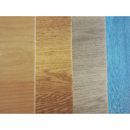 4.5mm Maple Wood Color Pvc Sports Flooring For Gymnasium Basketball Courts