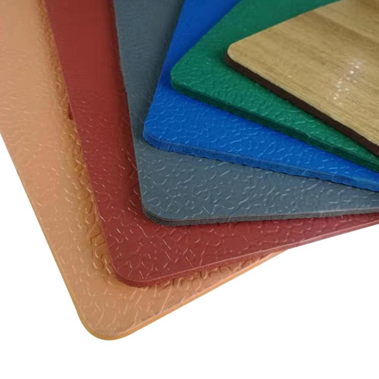5.0mm Thickness Multi Colors Outdoor Playground Antiskidding Flooring Mat Outdoor Vinyl Pvc Flooring