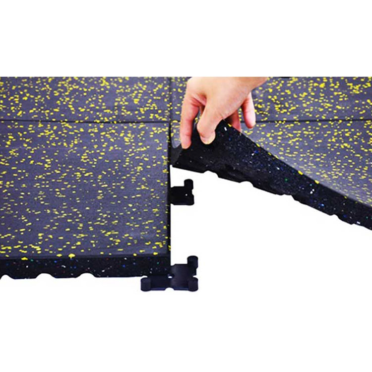 Strong Impact rolled rubber flooring and  square rubber mats