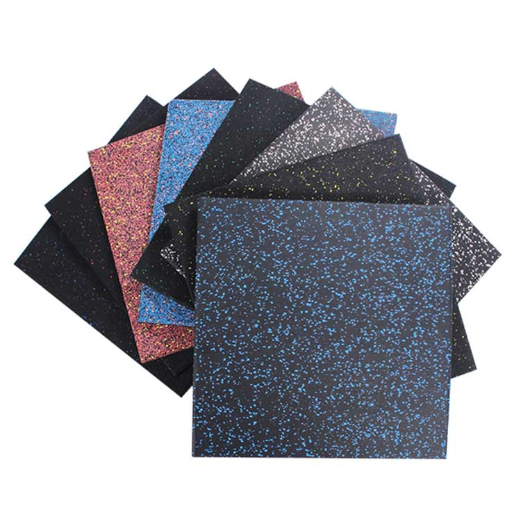 Heavy Duty Virgin material EPDM Rubber Flooring Mats for weight room