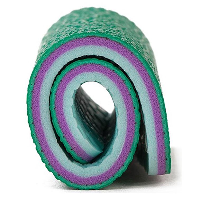 Высокое качество ПВХ спортивный пластиковый пол используется бадминтон