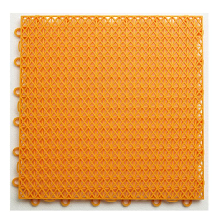 Outdoor Double Layer PP Interlocking Floor Tiles